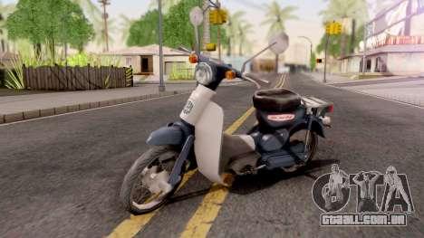 Honda Super Cub para GTA San Andreas