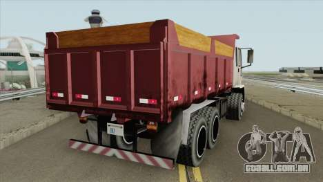 DFT-30 Basculante para GTA San Andreas