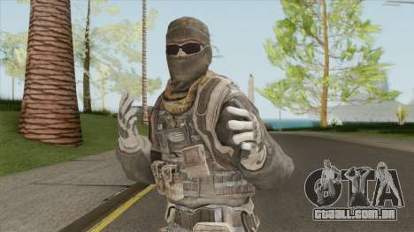 The Damned 33rd Soldier V1 (Spec Ops: The Line) para GTA San Andreas