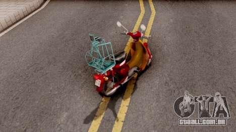 Honda Super Cub Business para GTA San Andreas
