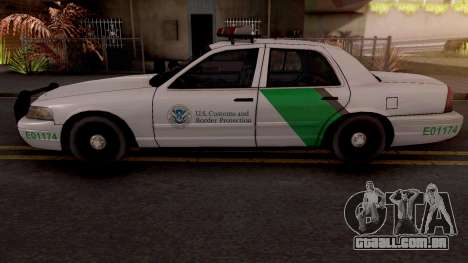 Ford Crown Victoria Border Patrol SA Style para GTA San Andreas
