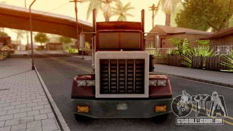 Linerunner from GTA VC para GTA San Andreas