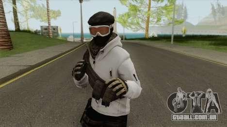 Arctic Leet Skin V1 (Counter-Strike Online 2) para GTA San Andreas