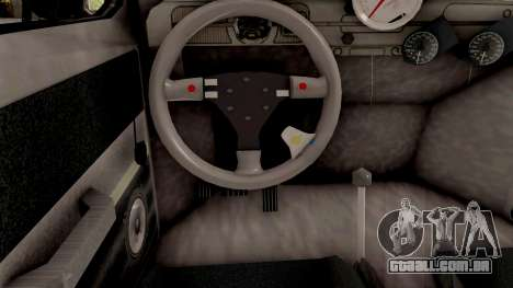 Volkswagen Herbie Nascar para GTA San Andreas