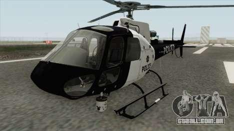 Police Maverick GTA V (SFPD Air Support Unit) para GTA San Andreas