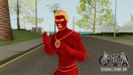 Human Torch V1 (Marvel Pinball) para GTA San Andreas