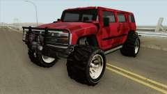 Patriot Army GTA V para GTA San Andreas