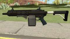 Carbine Rifle GTA V Box (Flashlight, Grip) para GTA San Andreas
