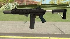 Carbine Rifle V3 (Flashlight, Grip, Silenced) para GTA San Andreas