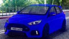 Ford Focus RS 2017 Hatchback para GTA San Andreas