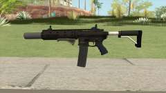 Carbine Rifle GTA V Extended (Grip, Silenced) para GTA San Andreas