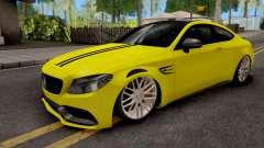 Mercedes-Benz C63S Coupe para GTA San Andreas