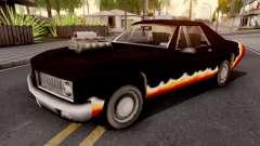 Diablo Stallion GTA III para GTA San Andreas
