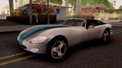 Banshee GTA III Xbox para GTA San Andreas