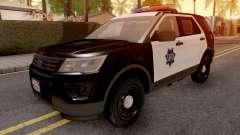 Ford Explorer 2016 SFPD para GTA San Andreas