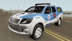 Toyota Hilux 2015 CETO para GTA San Andreas