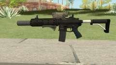 Carbine Rifle V2 (Grip, Silenced, Tactical) para GTA San Andreas