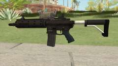 Carbine Rifle GTA V V2 (Flashlight, Tactical) para GTA San Andreas