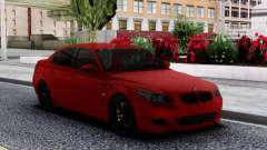 BMW M5 E60 Sedan Red para GTA San Andreas