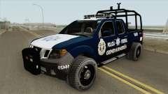 Nissan Frontier (Policia Federal Division) para GTA San Andreas