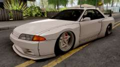 Nissan Skyline R32 1993 Rocket Bunny Pandem para GTA San Andreas