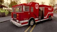 Firetruck GTA III Xbox para GTA San Andreas