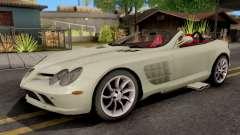 Mercedes-Benz SLR Roadster para GTA San Andreas