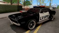 Dodge Challenger 1970 Police LVPD para GTA San Andreas