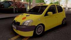 Toyota Yaris Pokemon para GTA San Andreas