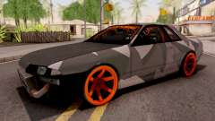 Nissan Skyline R32 Drift Camo v5 para GTA San Andreas