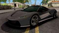 Progen T20 GTA 5 para GTA San Andreas