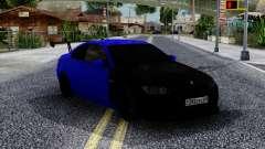 BMW M3 E92 Black & Blue para GTA San Andreas