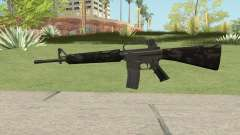 M16A2 Partial Forest Camo (Stock Mag)