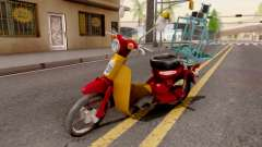 Honda Super Cub Business para GTA San Andreas