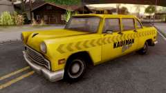 Kaufman Cab from GTA VC para GTA San Andreas