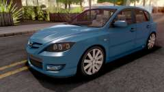 Mazda Speed 3 Blue para GTA San Andreas