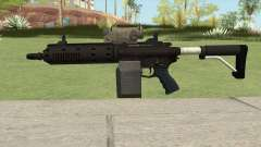 Carbine Rifle GTA V V1 (Flashlight, Tactical) para GTA San Andreas