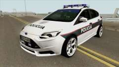 Ford Focus ST 2013 BiH Policija para GTA San Andreas