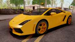 Lamborghini Gallardo LP560 Yellow para GTA San Andreas