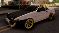 Toyota AE86 Cabrio Drift para GTA San Andreas