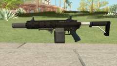 Carbine Rifle V1 (Flashlight, Grip, Silenced) para GTA San Andreas