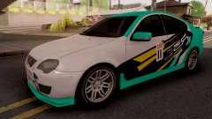 Proton Persona Elegance Petronas Edition para GTA San Andreas
