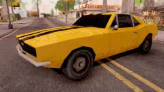 Chevrolet Camaro SS Yellow para GTA San Andreas
