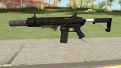 Carbine Rifle GTA V Default (Grip, Silenced) para GTA San Andreas
