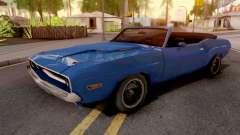 Dodge Challenger RT Conversivel para GTA San Andreas
