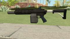 Carbine Rifle GTA V V1 (Silenced, Flashlight) para GTA San Andreas