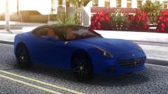 Ferrari California Blue para GTA San Andreas
