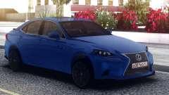 Lexus GS-F Blue Sedan para GTA San Andreas