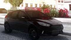 Ford Focus RS 2018 Black para GTA San Andreas