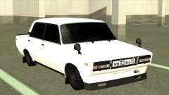 VAZ 2105 BK Branco para GTA San Andreas